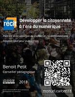 Développer la citoyenneté à l'ère du numérique : portrait de la situation au Québec et recommandations