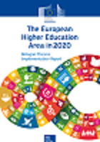 The european higher education area in 2020: Bologna process implementation report