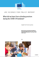 What did we learn from schooling practices during the COVID-19 lockdown? Insights from five EU countries