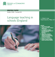 Language teaching in schools in England