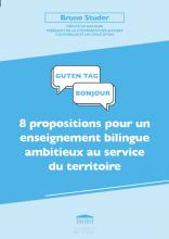 8 propositions pour un enseignement bilingue ambitieux au service du territoire