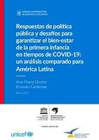Respuestas de política pública y desafíos para garantizar el bien-estar de la primera infancia en tiempos de COVID-19