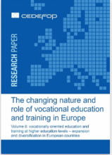 The changing nature and role of vocational education and training in Europe: volume 6: vocationally oriented education and training at higher education levels - expansion and diversification in European countries
