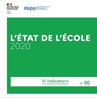 L'état de l'école 2020 : 31 indicateurs sur le système éducatif français