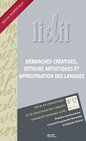 n° 57 - 2018 - Démarches créatives, détours artistiques et appropriation des langues