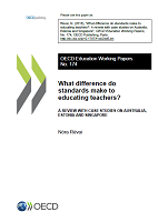 What difference do standards make to educating teachers? A review with case studies on Australia, Estonia and Singapore