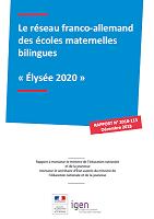 Le réseau franco-allemand des écoles maternelles bilingues « Élysée 2020 »