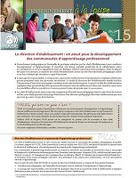 La direction d'établissement : un atout pour le développement des communautés d'apprentissage professionnel