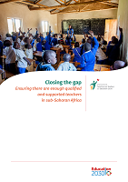 Closing the gap: ensuring there are enough qualified and supported teachers in sub-Saharan Africa
