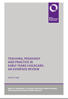 Teaching, pedagogy and practice in early years childcare: an evidence review