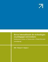 vol. 15, n°1 - 2018 - Portrait d'enjeux actuels du numérique en pédagogie universitaire : entre les MOOCs et le e-sport