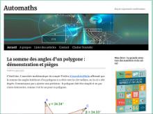 Automaths : blog de vulgarisation mathématique