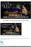 Versailles, complot à la cour du Roi Soleil (jeu)